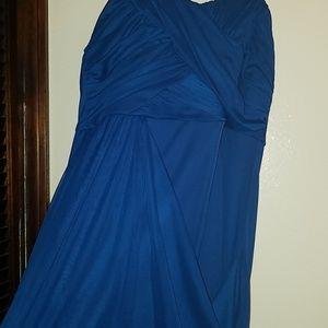Mini dress strapless